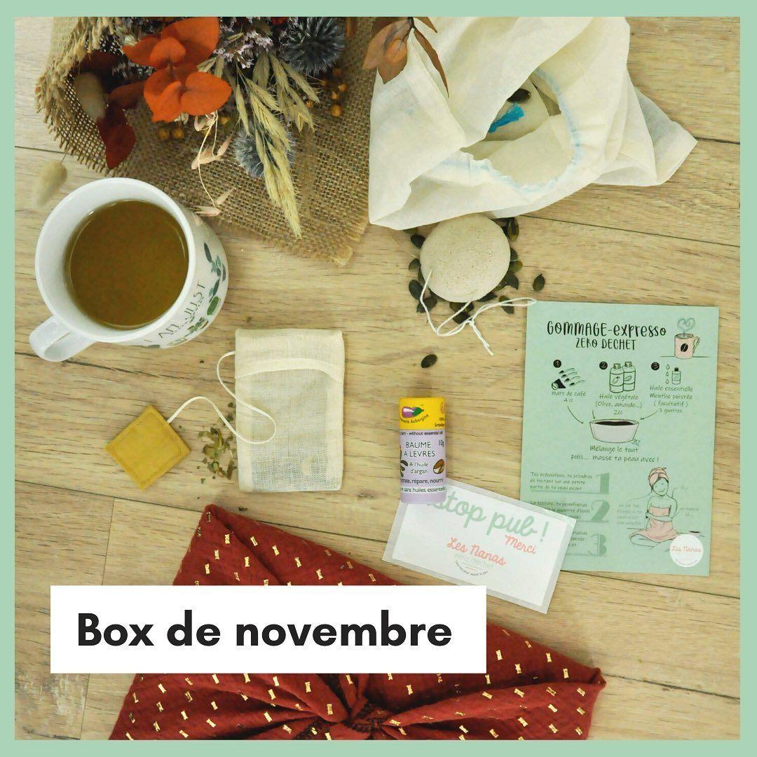 Box De Novembre La Dernière Box Des Nanas Zéro Déchet Est En Ligne Tu Pourras La Recevoir Jusqu Au 22 12 On Te Sauve Aussi Des Fêtes Book Cover