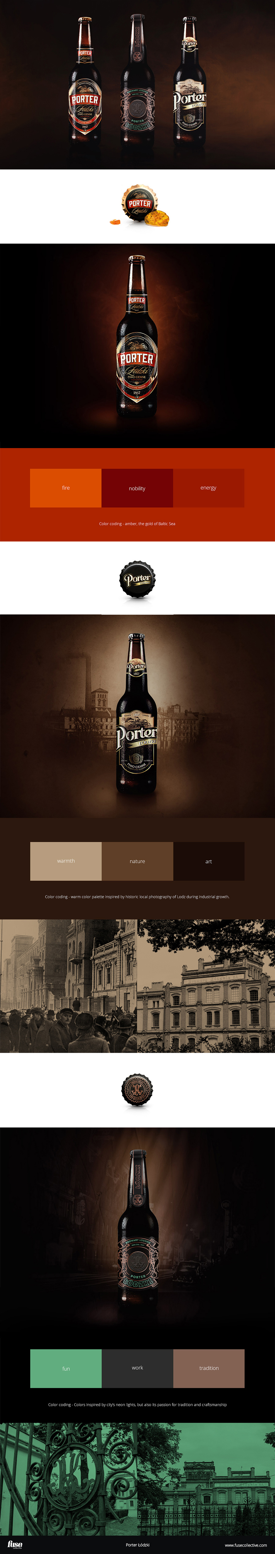 Case study - exploration of art direction for Polish beer packaging. | Fuse Collective