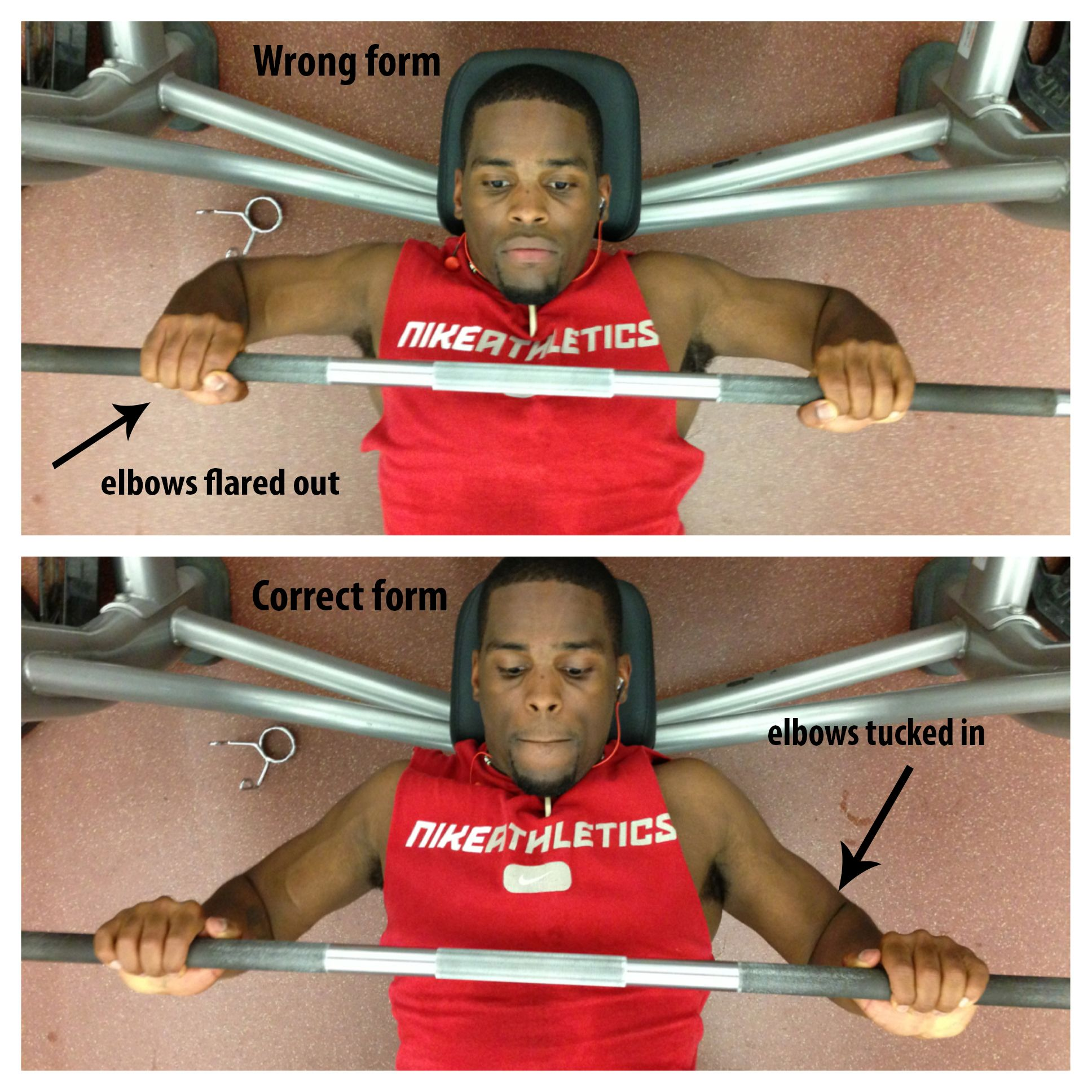 Injoymint.com - Bench Press Form and Workout. Check out ...