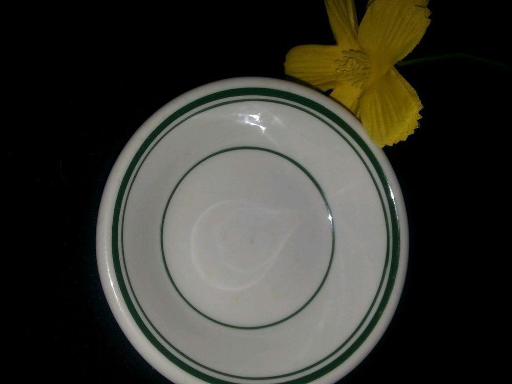 $3.99 Vitrified China USA white green stripes Bowl USA vintage Restaurant quality dish #vitrified & $3.99 Vitrified China USA white green stru2026 | southern treasures from ...