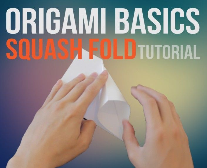 Origami Squash Fold 3d Origami Instructions And Diagrams