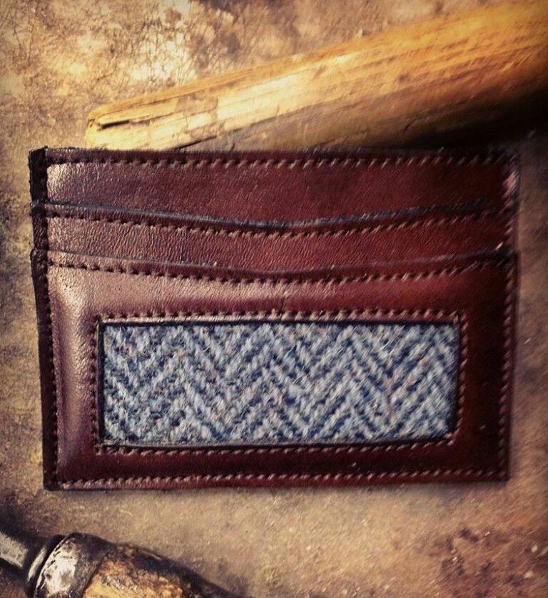 EJ&CO The Skinny Harris Harris tweed straight from the