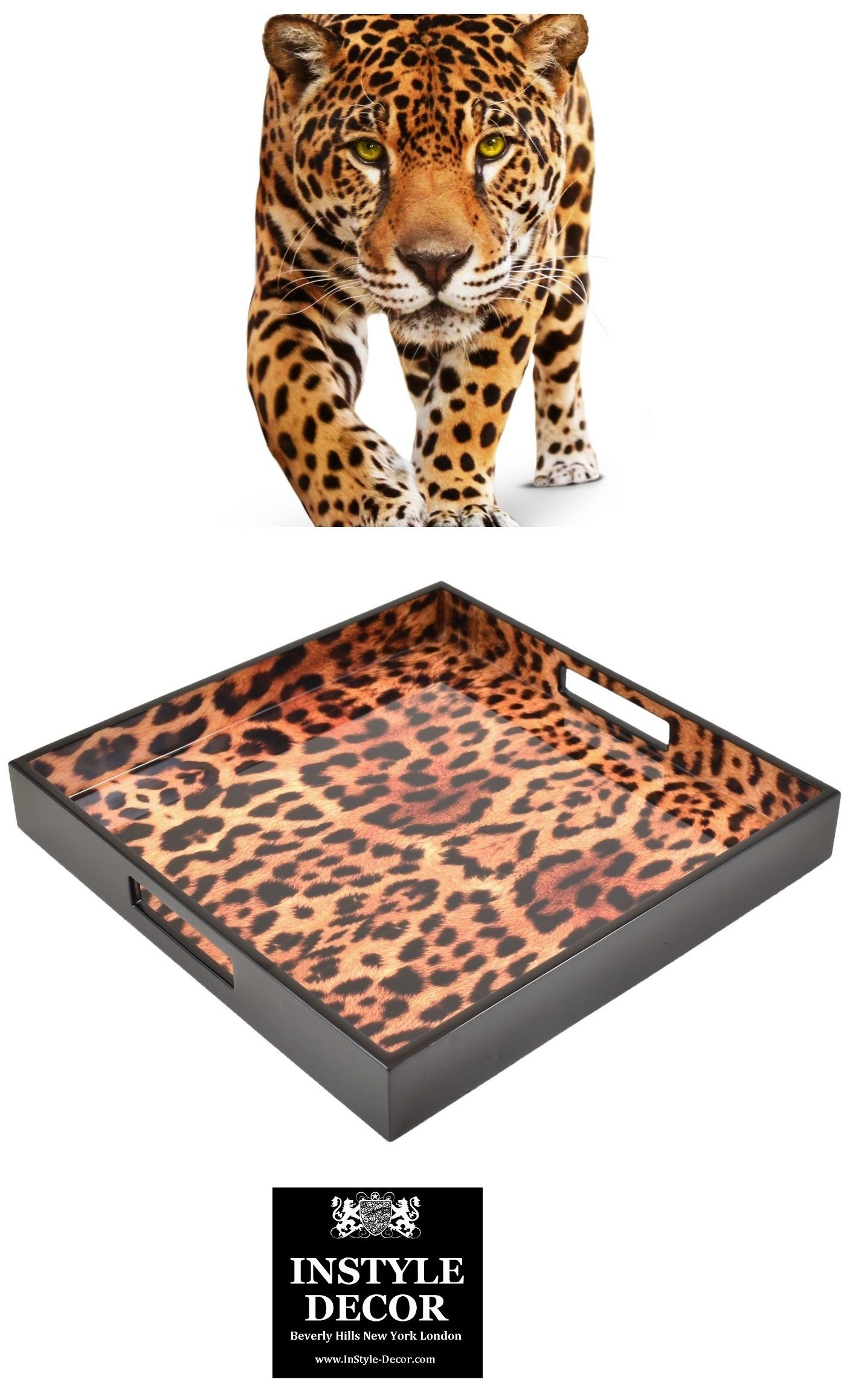 Cheetah Tray Cheetah Trays Leopard Tray Leopard Trays Jaguar