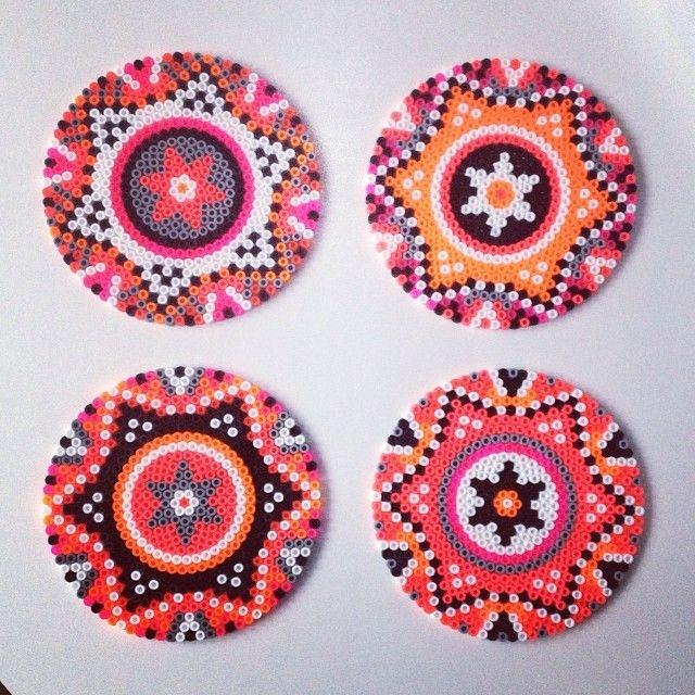 8 really cool perler bead diy ideas - Cool Coasters