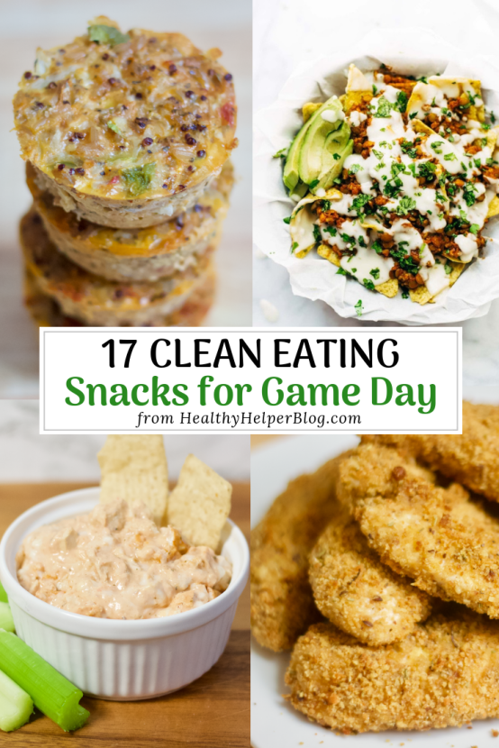 17 Clean Eating Snacks for Game Day