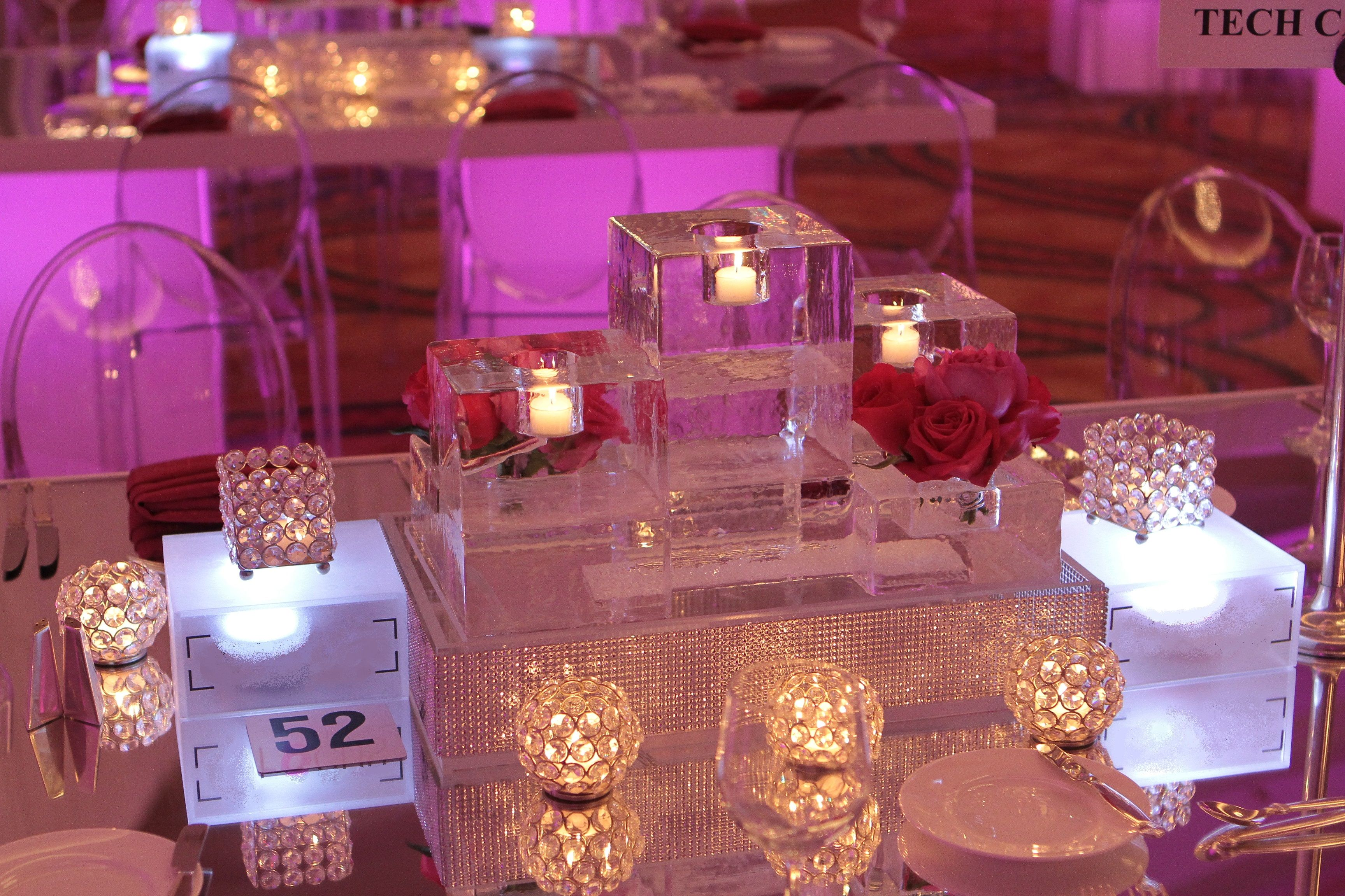 Image Result For Mirror Table Centerpiece
