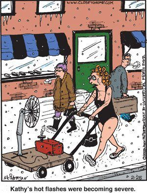 Hot flashes are awful!!!!!