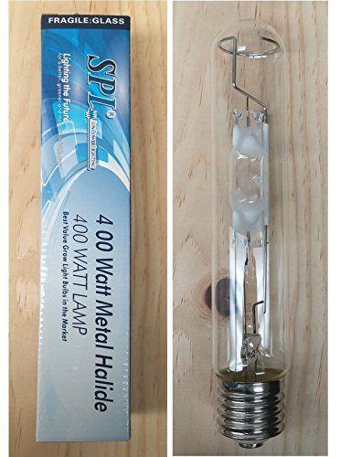 SPL Horticulture Stmb 400 Hydroponic 400w Watt Metal Halide Mh Grow Light Bulb Lamp for Magnetic and Digital Ballast