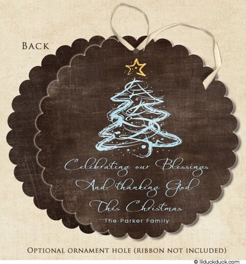 Elegant Blessings Christian Christmas Card Holiday Scalloped Circle Shape Christmas Ornaments To Make Christian Christmas Cards Christmas Card Ornaments
