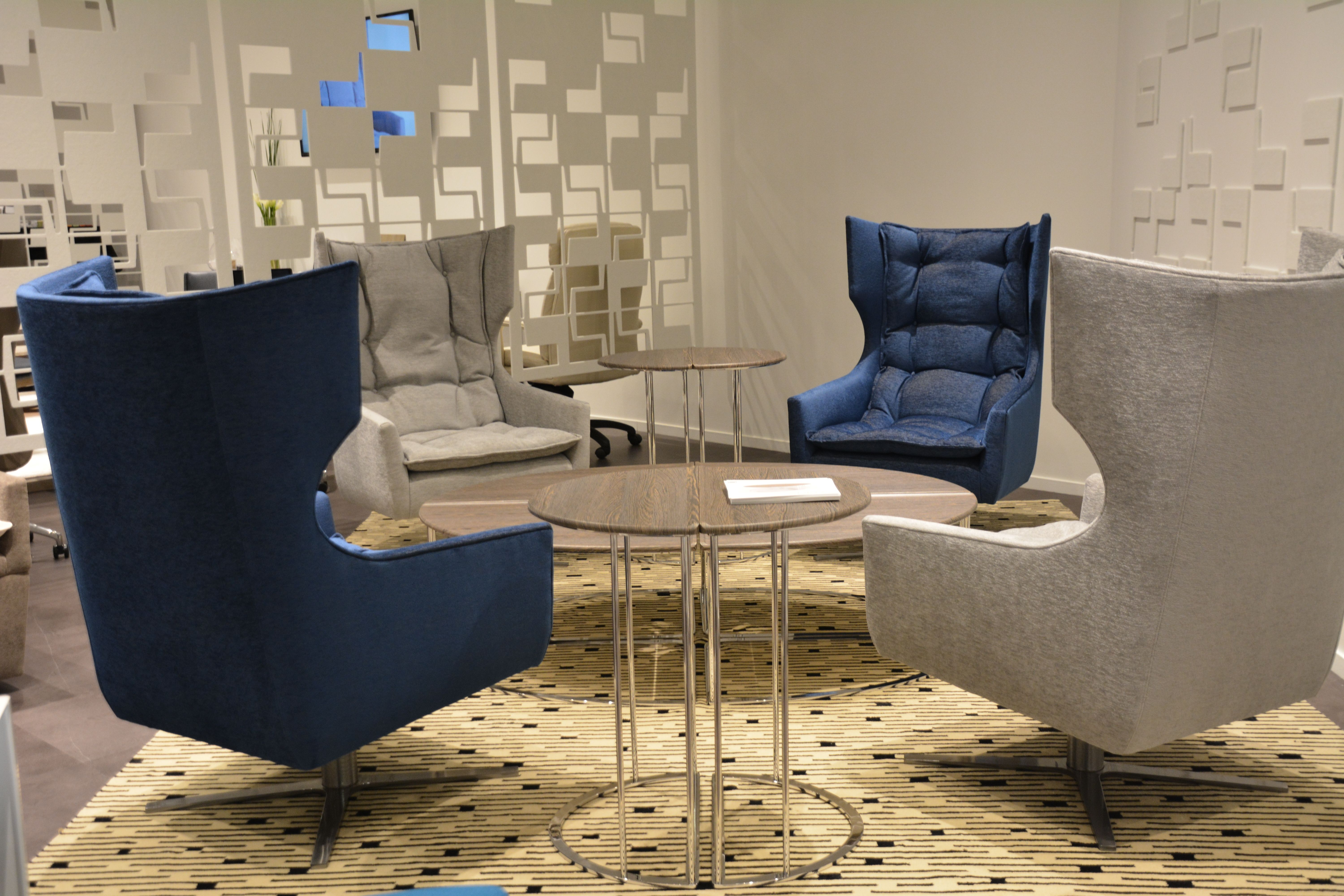 Ala High Back Lounge And Sueno Tables By Cabot Wrenn