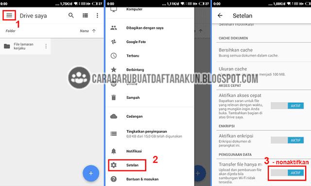 Cara Kirim Lamaran Lewat Email Via Google Drive Hp Android Cara Baru Buat Daftar Akun Google Drive Drive Google