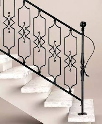 Best Modern Stair Railing Ideas Iron Safety Grill Design For 400 x 300
