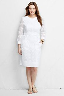 plus size dresses | lands' end | dresses | pinterest