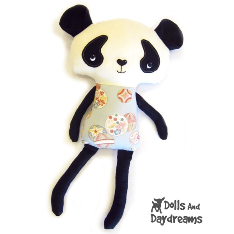 Panda Sewing Pattern<---I wonder if Lisa would want a \