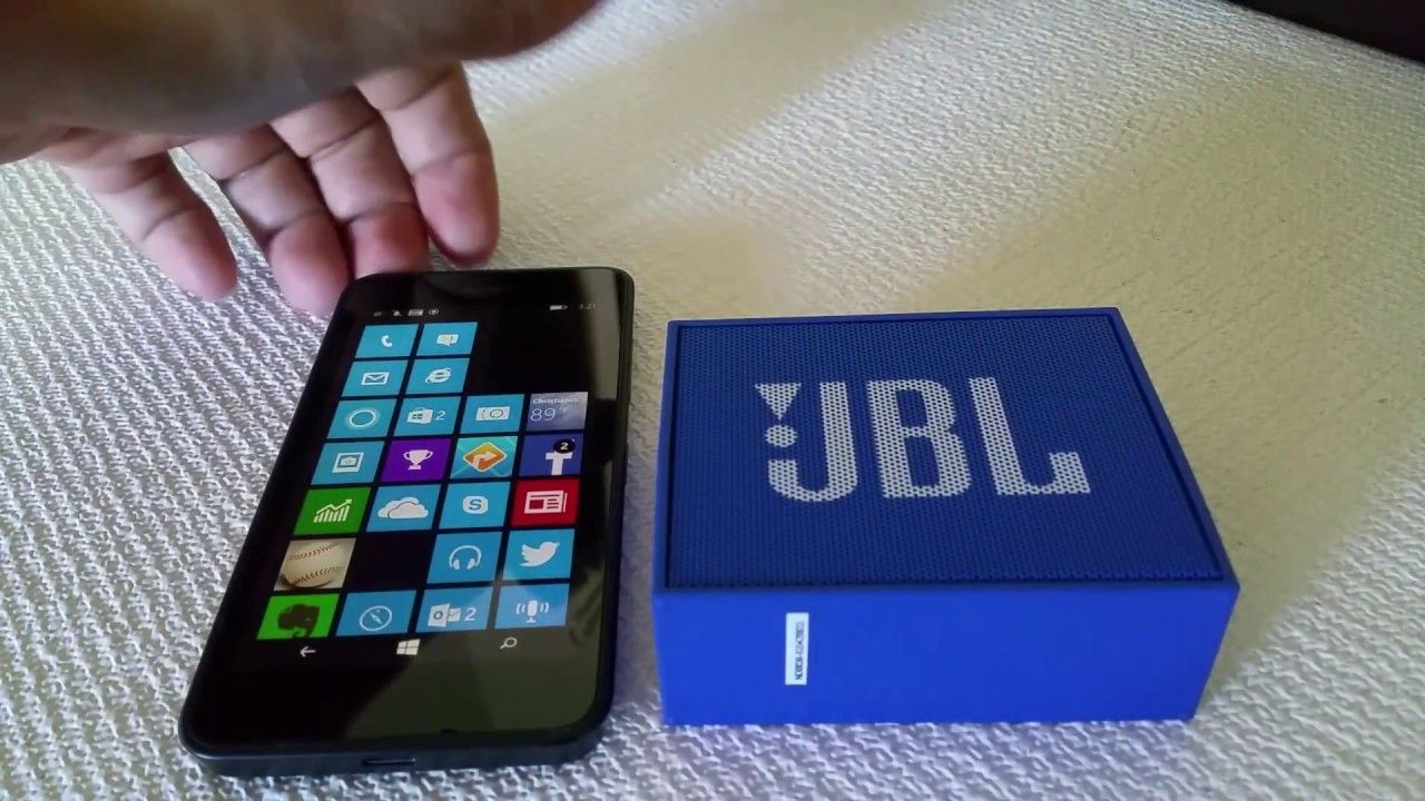 How To Connect Jbl Go Bluetooth Speaker To Windows Phone Phone Windows Phone Bluetooth Device