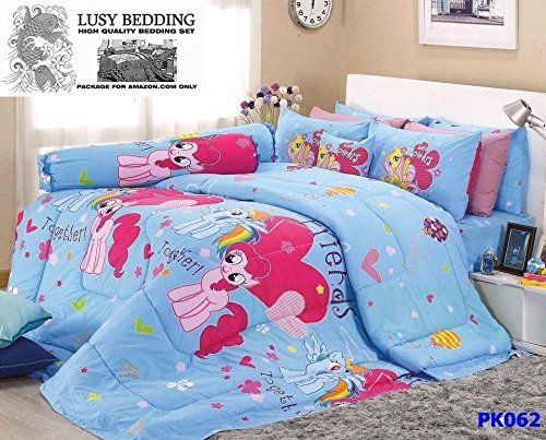 My Little Pony Official Licensed Bedding Set Bed Sheet Pillow Case Bolster Case Not Included Comforter Pk062 Set B Queen 60 Bed Sheets Fall Bedding Bedding Set