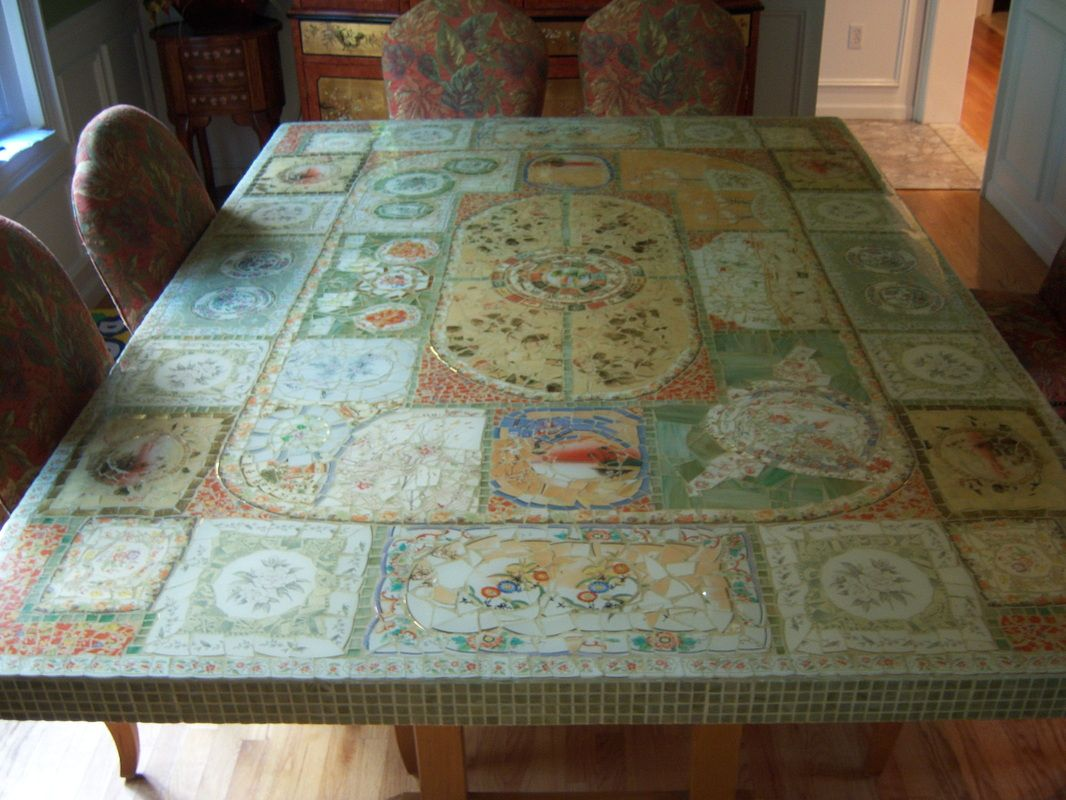 Beautiful 5ft X 7 Ft Mosaic Dining Room Table 2000