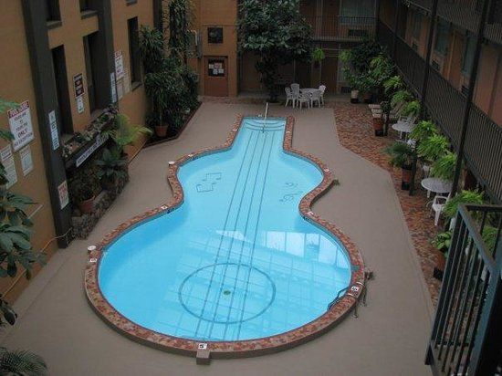 The World S Coolest Guitar Shaped Pool Is Right Here In Tennessee