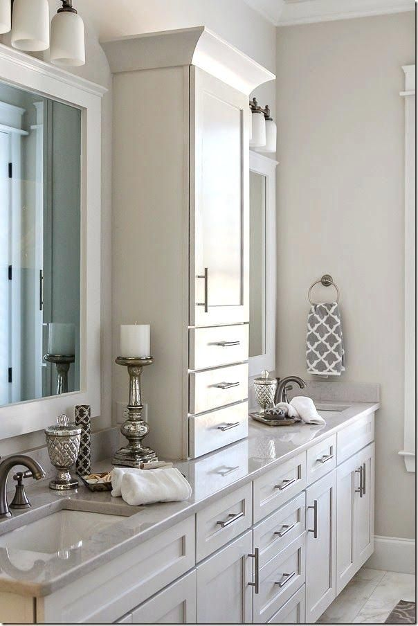Image Result For Double Vanity Tower Master Bathroom Renovation Bathroom Remodel Master Bathrooms Remodel