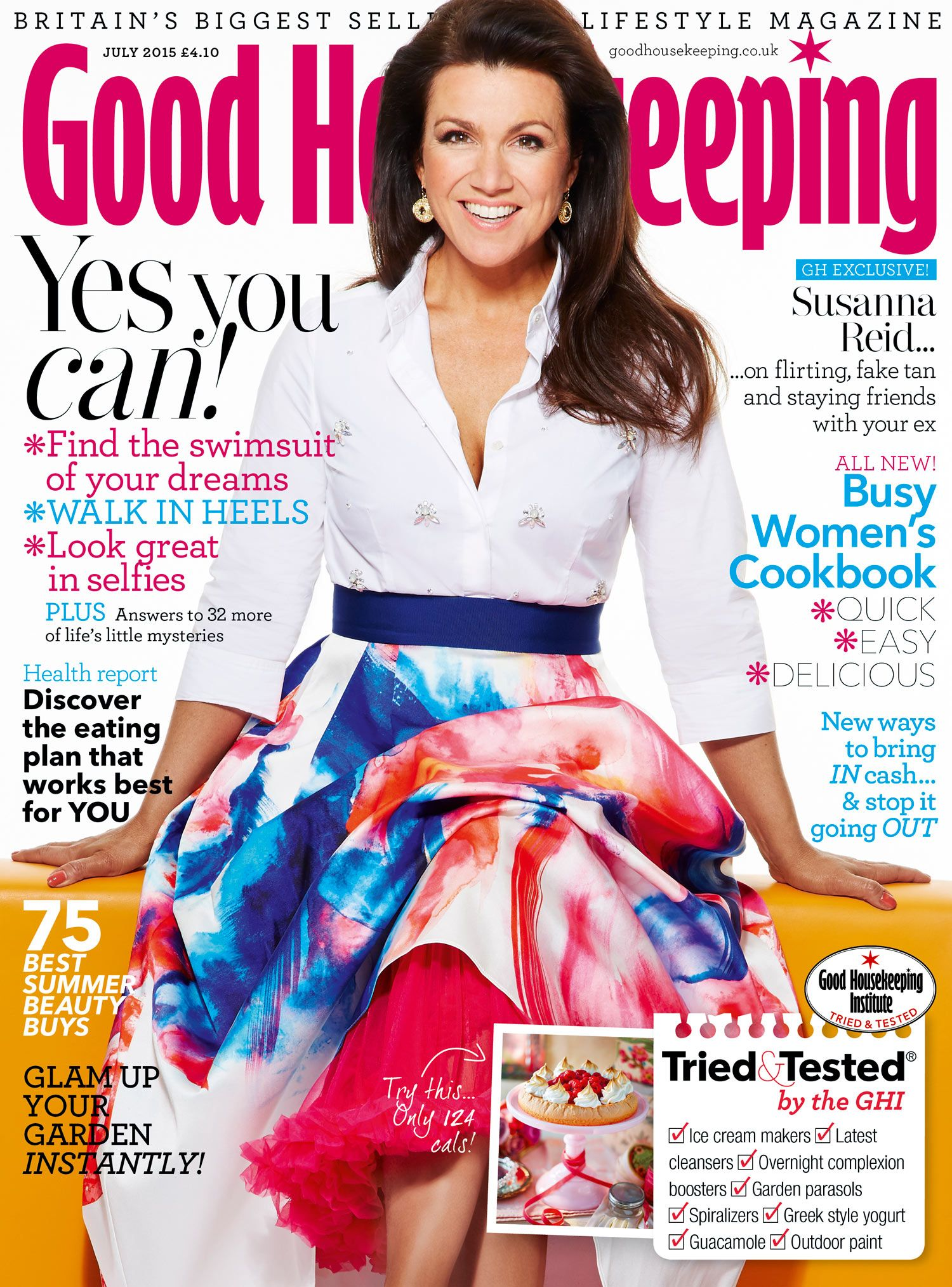 Susanna Reid – Good Housekeeping Magazine June 2015