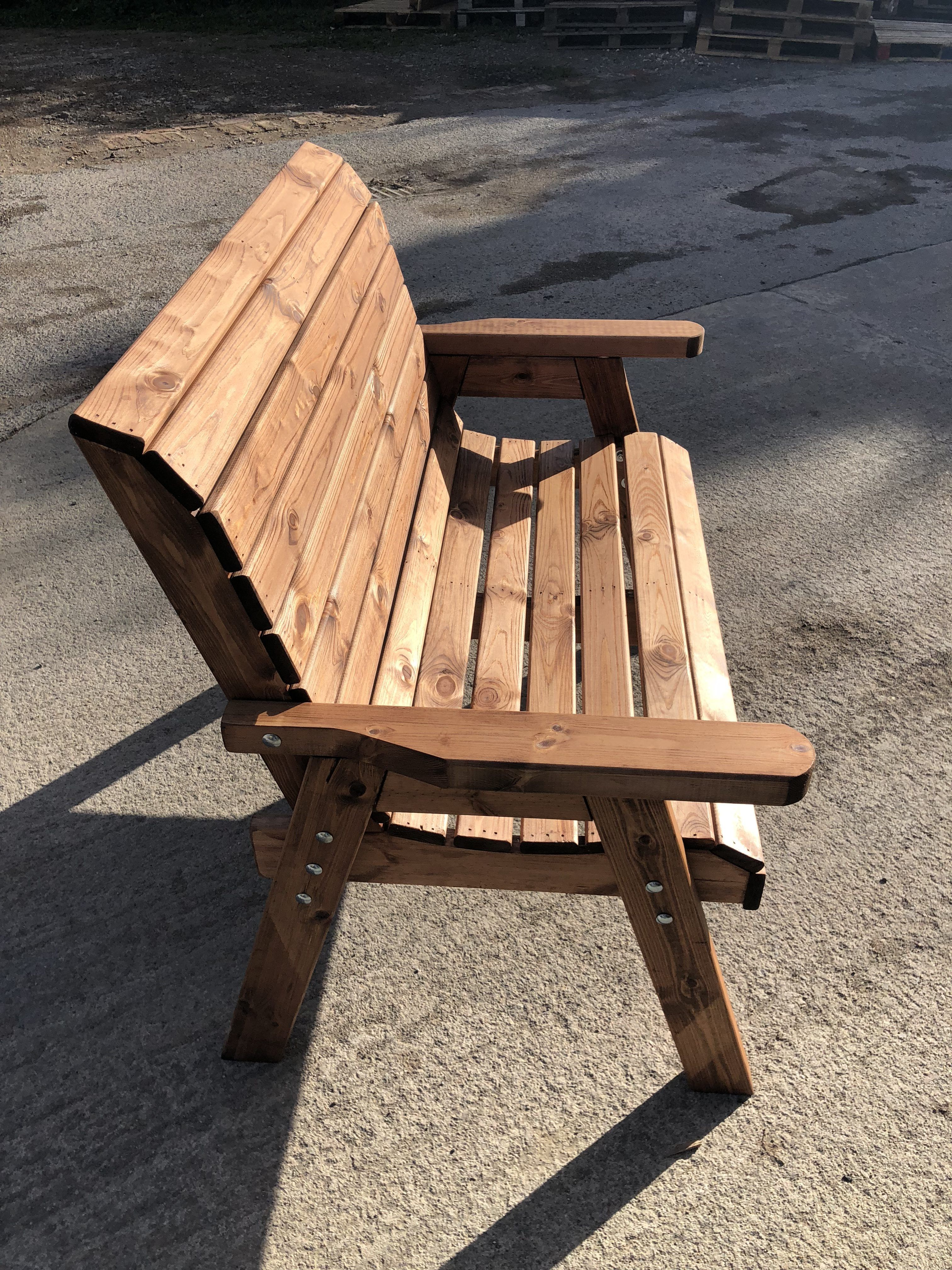Imperial Bench 4ft 2 Seater Sale Tanilised Pressure Treated Garden Furniture Sale Wooden Garden Benches Wooden Garden Furniture