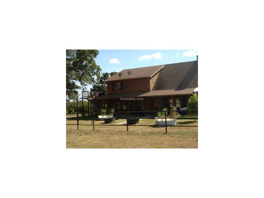 10230 COUNTY ROAD 316 , Caldwell, TX 77836- List Price:$4,650,000- Great mixture of pasture land and wooded hunting land, Log home with working pens and shop, also has a horse barn for 6 or more horse stalls. A rare find. House has open concept living area with master bedroom downstairs.