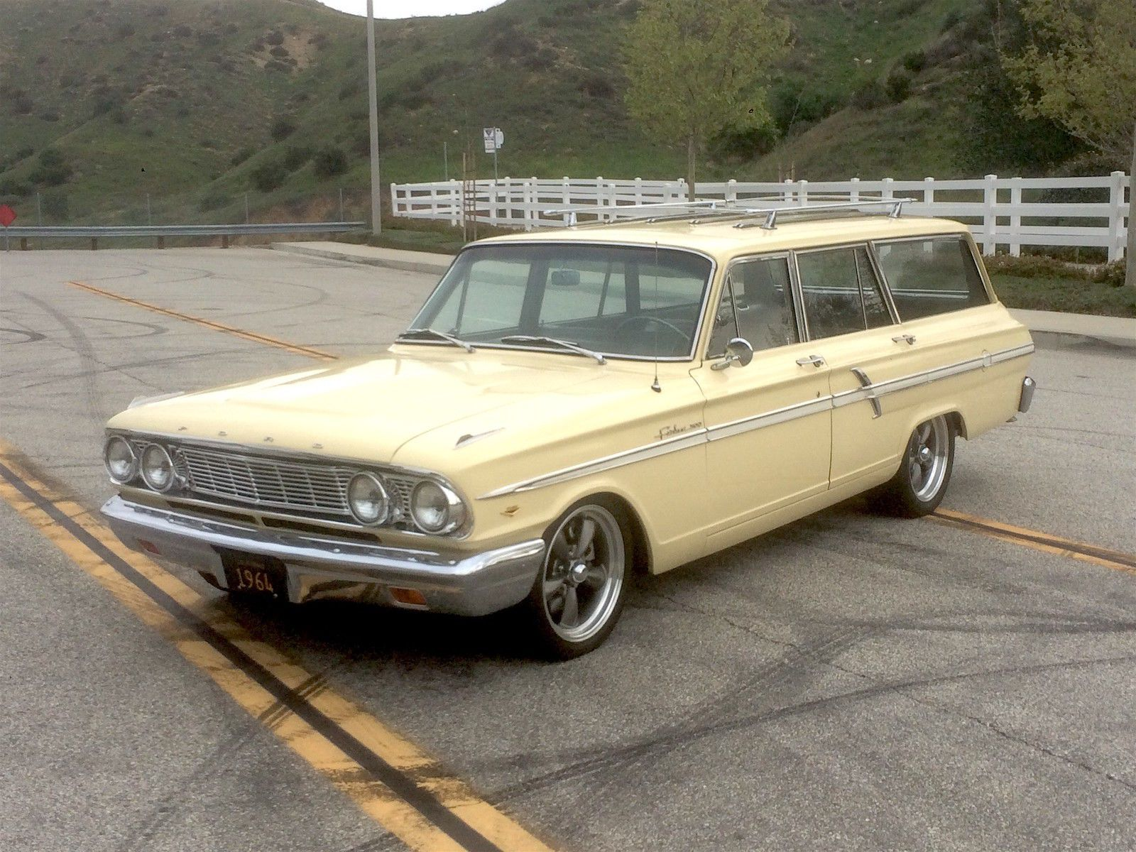 1964 Ford Fairlane Wagon With Images Ford Fairlane Fairlane
