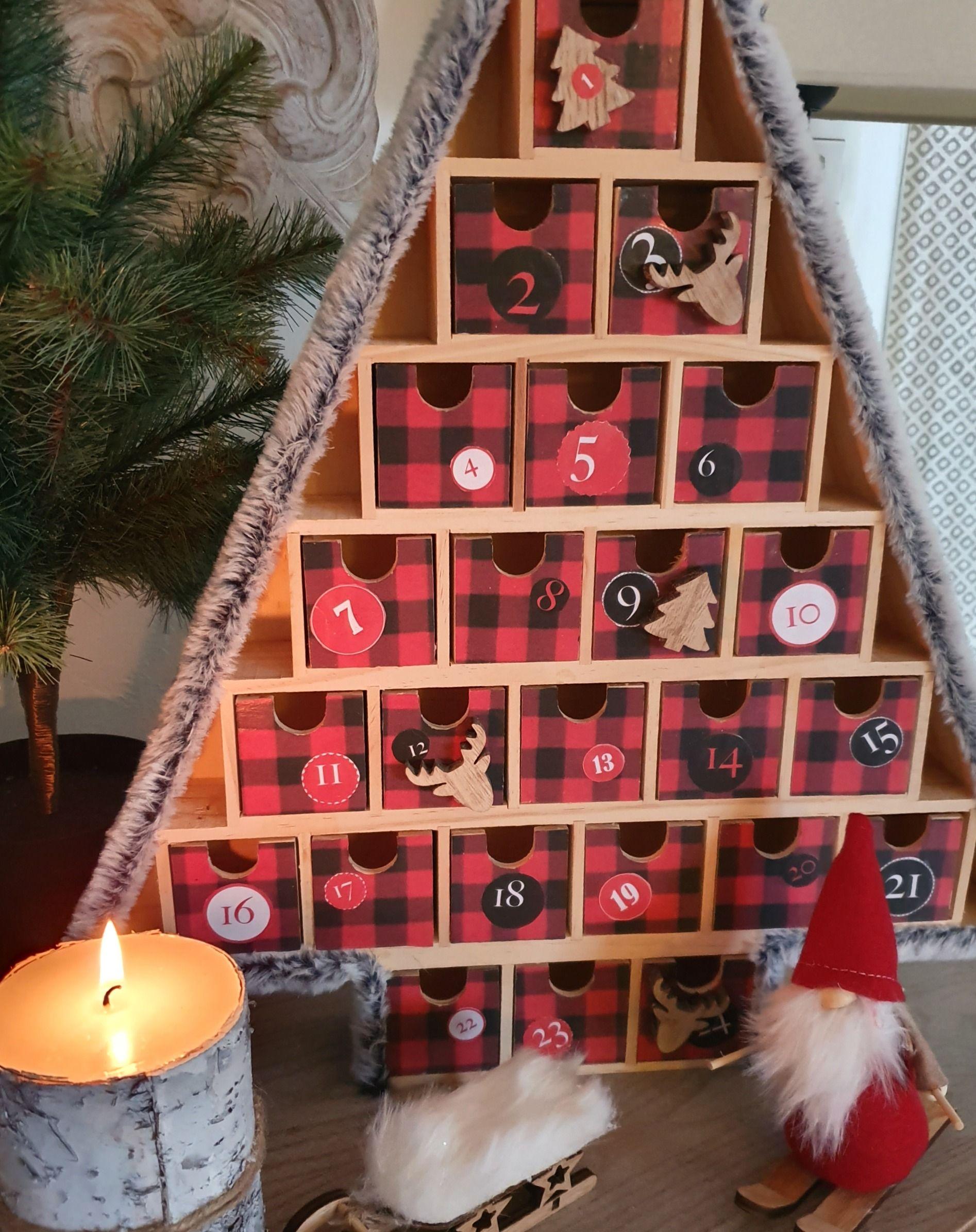 Christmas Tree, un calendrier de l'avent qui sent bon le Canada. #bonpourcalendrierdelavent
