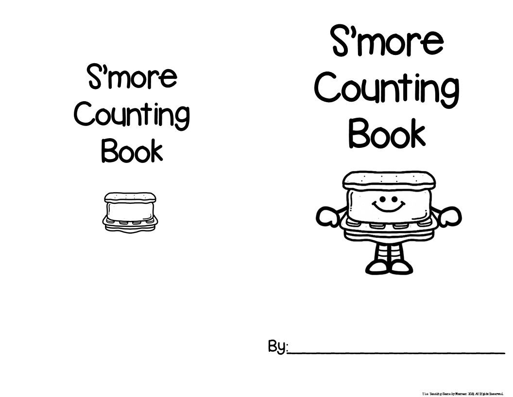 S Mores Themed Unit Literacy Amp Math Activities Amp Center