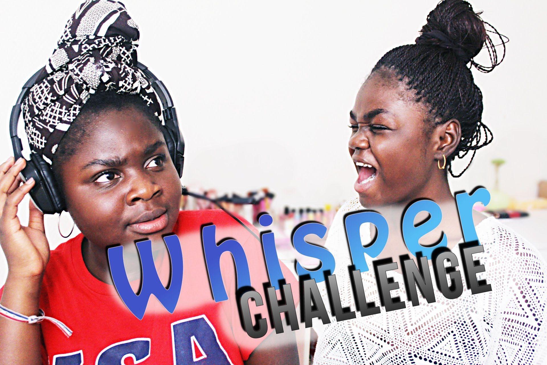 WHISPER CHALLENGE w. Tyler Oakley!   Whisper Challenge Ideas