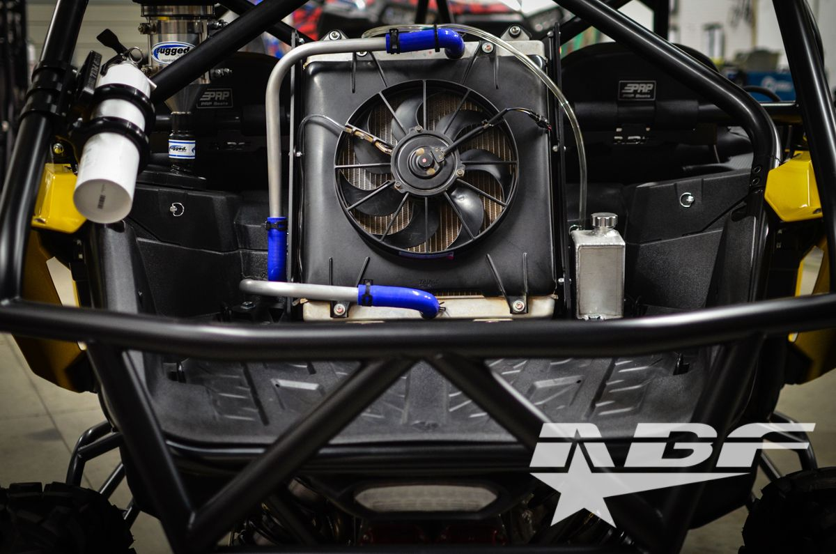 Yamaha YXZ 1000R Radiator Relocation Kit | Our UTV and SXS