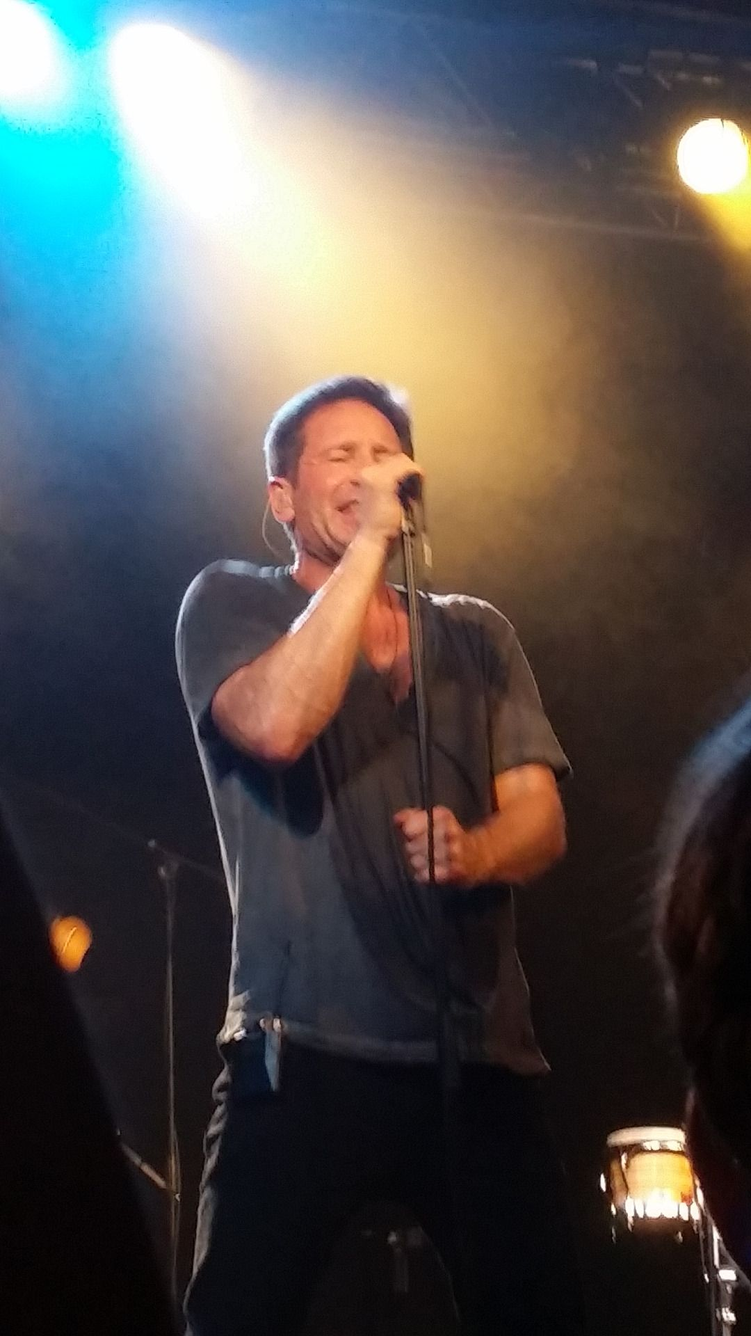 David Duchovny - 10 May, Hell Or Highwater European Tour (Live Music Hall - Cologne, Germany)