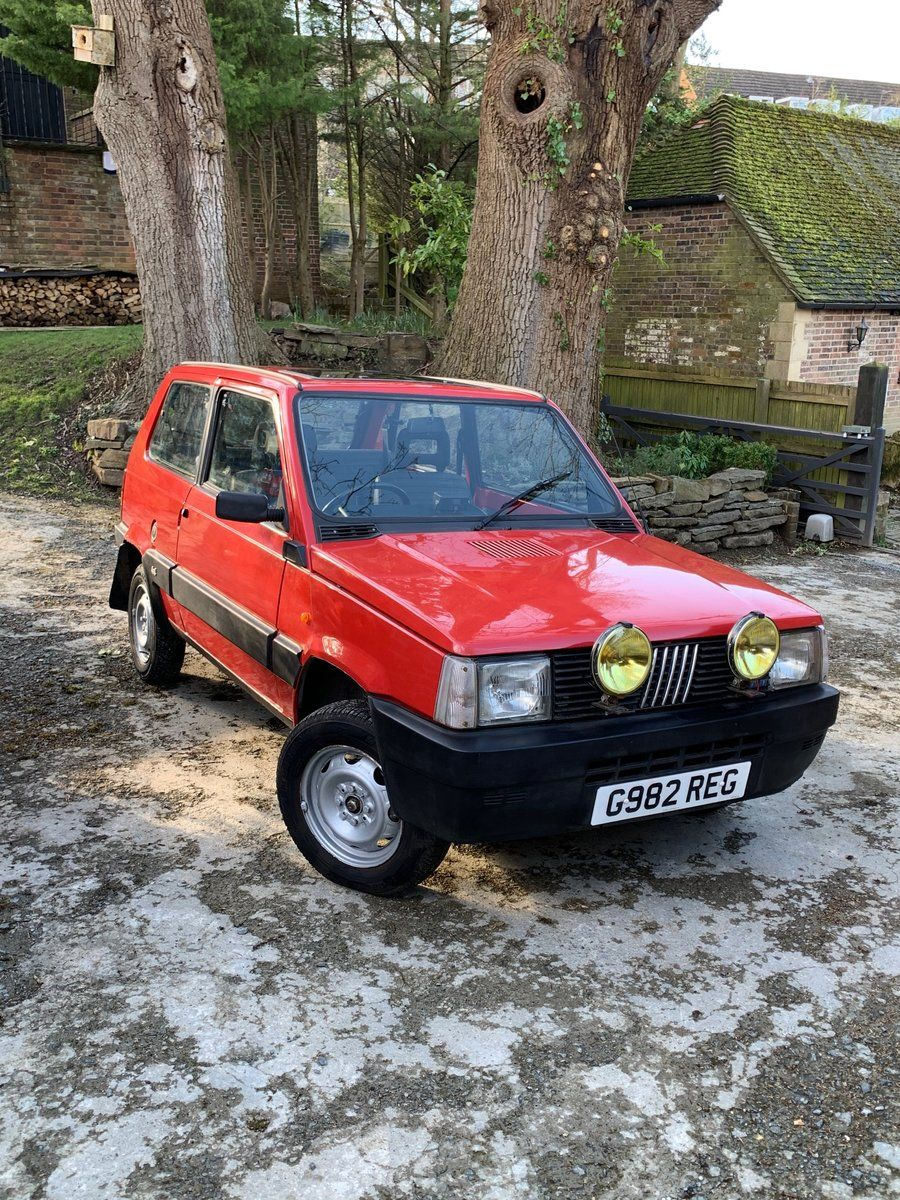 1990 Fiat Panda 4x4 Regularly Used 12 Months Mot For Sale
