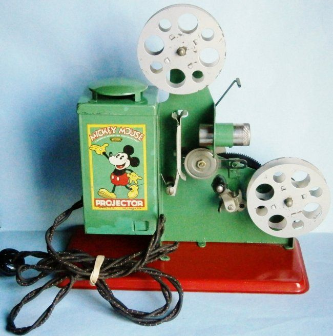 1930s Mickey Mouse Movie Projector by Keystone Mfg  Co