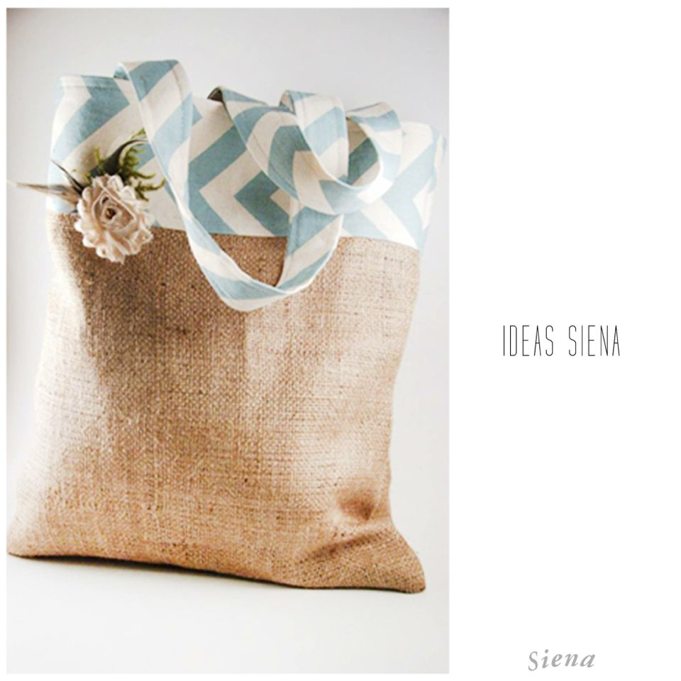 ¡¡¡ Una idea de bolso muy primaveral !!! #IdeasSiena  www.casasiena.cl