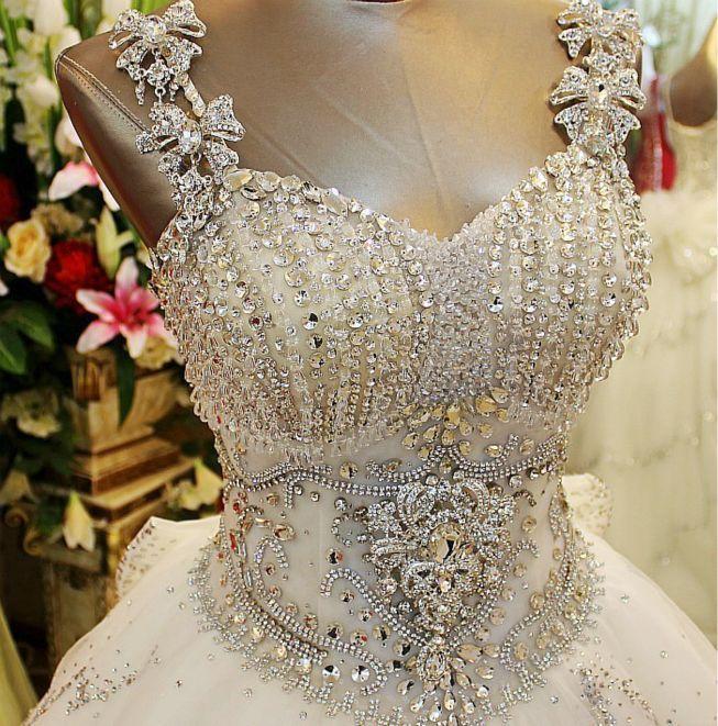 swarovski crystal | vestido de novia confección | pinterest