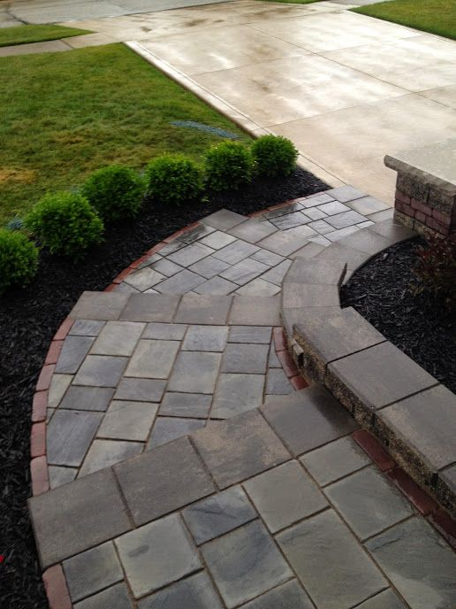 Precision Corporation Knows How To Make The Pavers Fit Just Perfectly Concrete Contractor Landscape Pavers Concrete