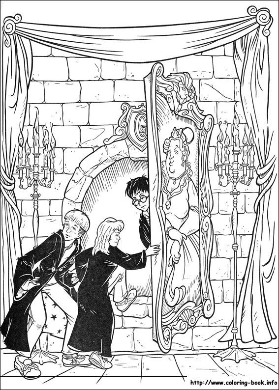 Harry Potter coloring picture | Coloring | Pinterest | Harry ...