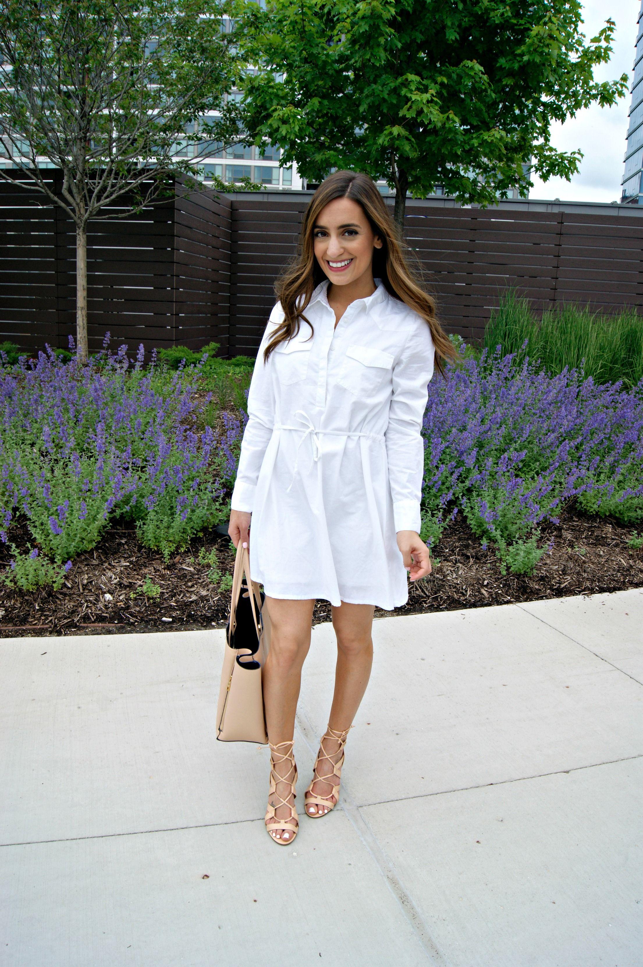 Summer Shirtdress Shirt Dress Summer Shirt Dress White Shirt Dress [ 3321 x 2210 Pixel ]