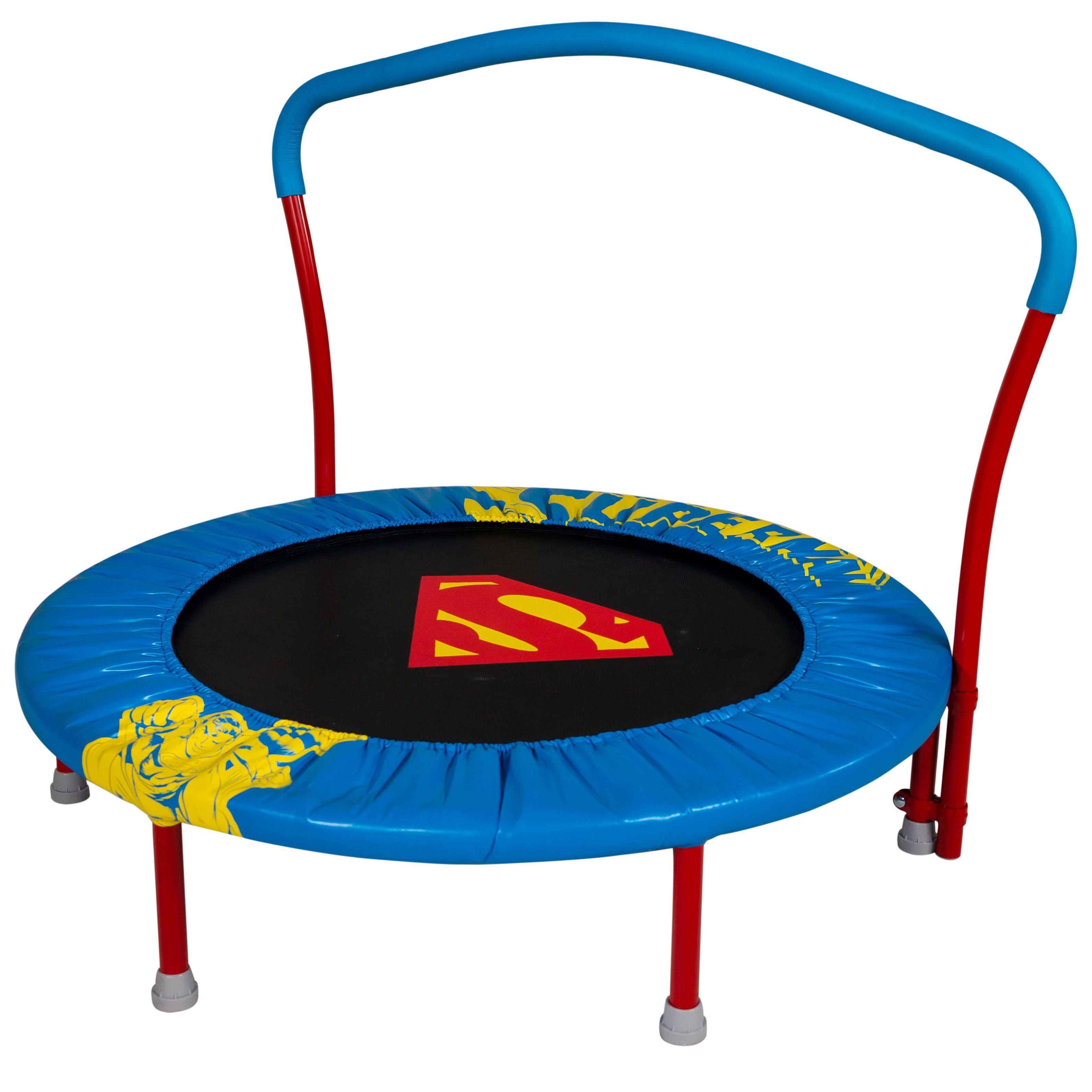 2020 Christmas Trampoline My First Superman 36 Inch Trampoline, with Handlebar   Walmart.