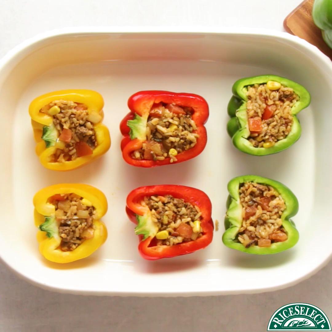 Stuffed Bell Peppers #bellpeppers
