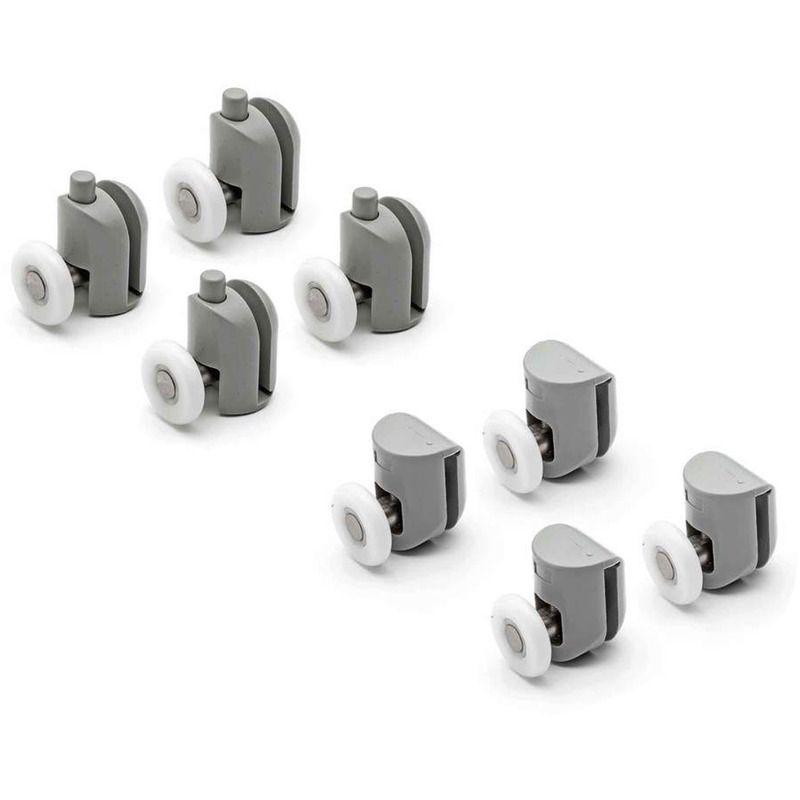Kit 8 Pieces Roulettes Remplacement Douche Pour Verre Porte Coulissante Obi 2 Idralite Cufflinks Accessories