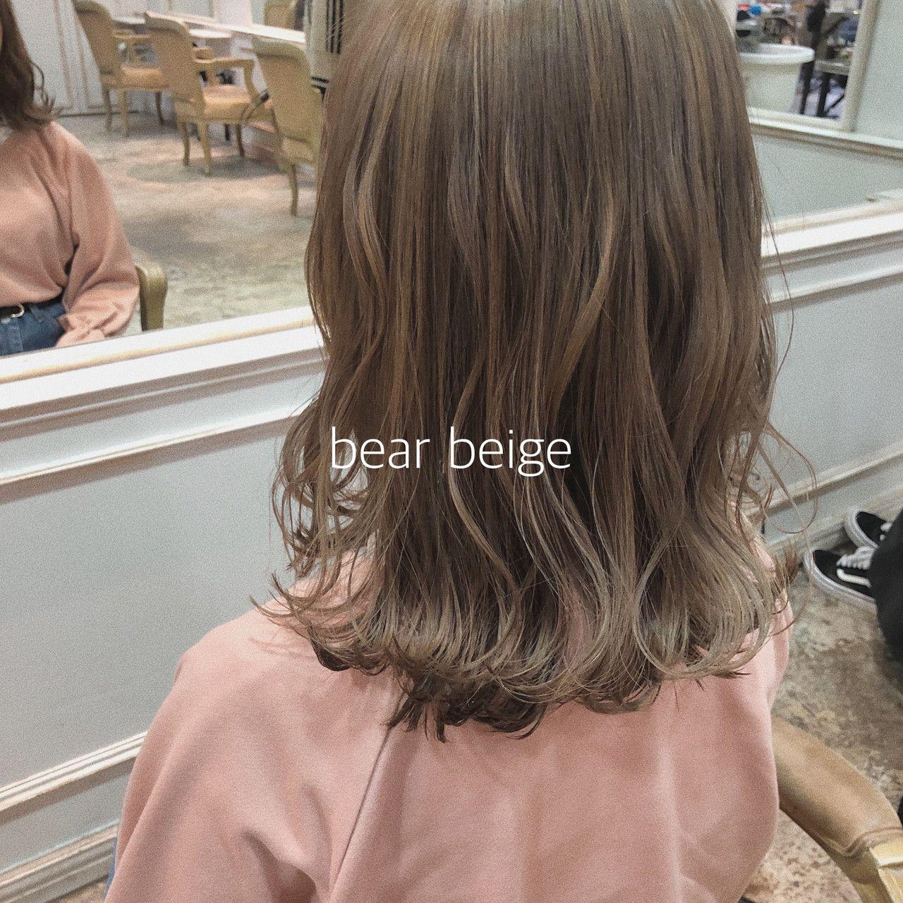 ヘアアレンジ ミルクティーベージュ イルミナカラー ナチュラルベージュ H Eitf Ikeo Gaku 464242 Hair 画像あり ヘア アイディア カラフルヘア ヘアスタイリング