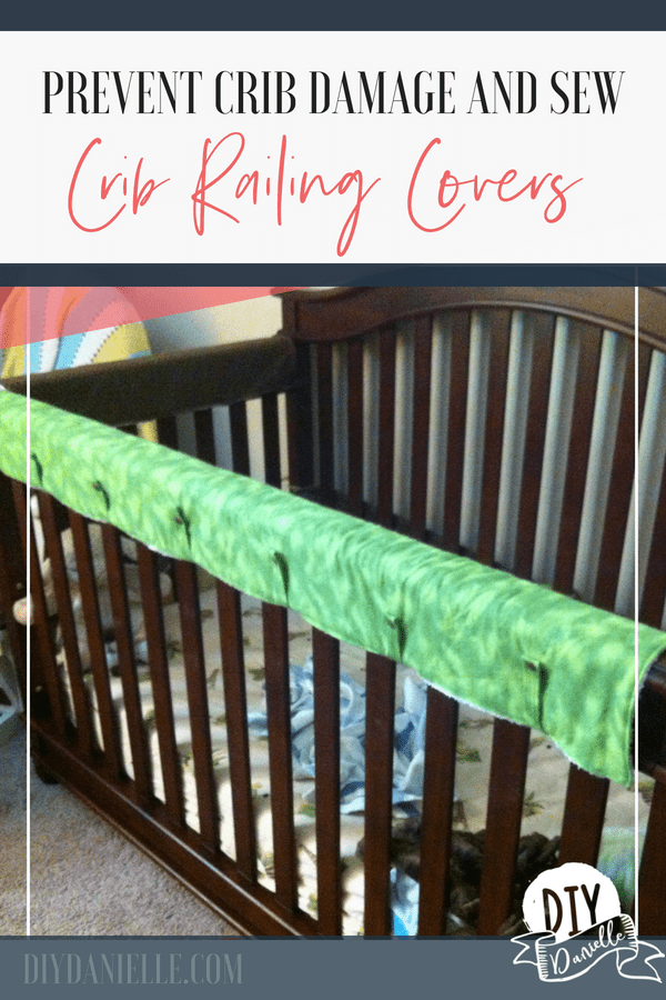 How To Sew A Crib Teething Guard With Images Crib Teething Guard Cribs Baby Sewing Projects