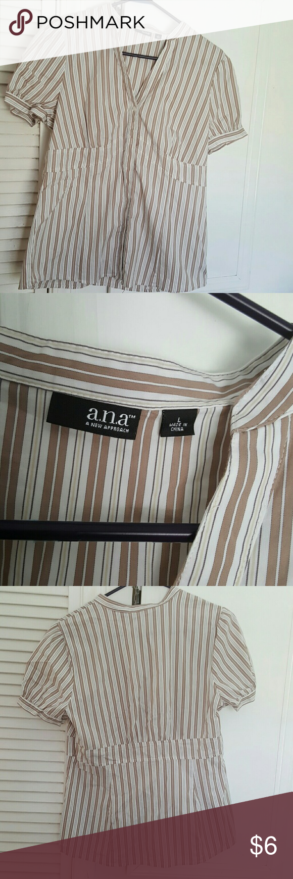 Size Large a.n.a top EUC SIZE LARGE A.N.A. BUTTON UP TOP a.n.a Tops Button Down Shirts