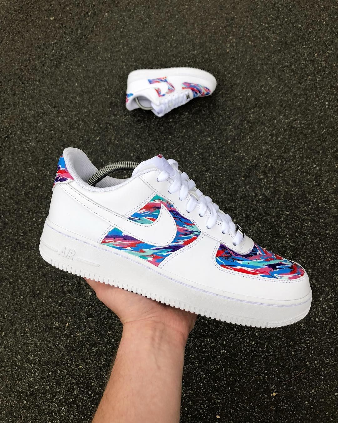 watch 2c212 f2b83 I m sure you ve been informed (if not explicitly then surely, implicitly)  that Air Force 1s are the shoe of the summer. Rock these DIY versions!