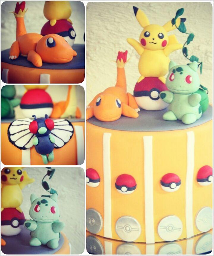 GEEK - CAKE - Pokemon 1st generation by ~I-am-Ginger-Pops on deviantART