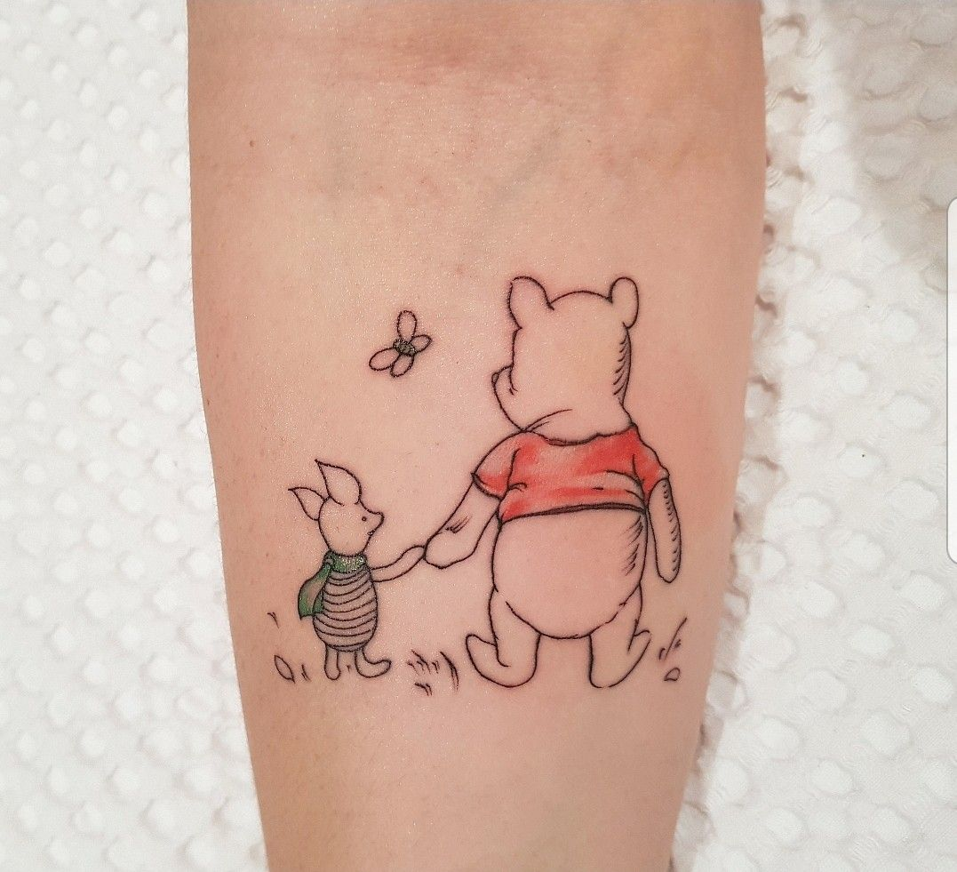 Photo of Winnie the Pooh and Piglet Tattoo