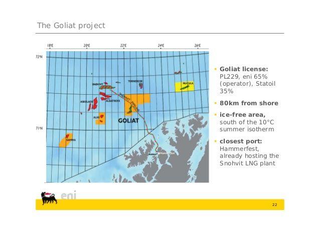 ENI, partono le attività nel Mare di Barents - Materie Prime - Commoditiestrading