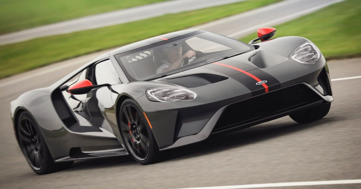 2019 Ford Gt Carbon Series Sheds Weight Adds Exclusivity